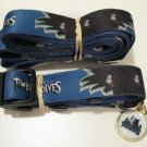 Minnesota Timberwolves Pet Dog Leash Set Collar ID Tag Gift Size Small