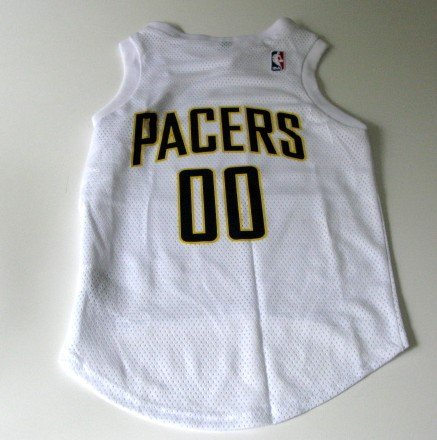 Indiana Pacers Pet Dog Basketball Jersey Small