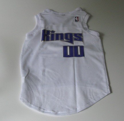 Sacramento Kings Pet Dog Basketball Jersey Gift Size Small