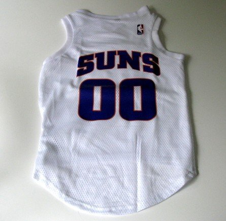 Phoenix Suns Pet Dog Basketball Jersey Gift Size Medium