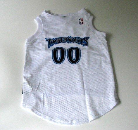 Minnesota Timberwolves Pet Dog Basketball Jersey Gift Size Large