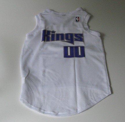 Sacramento Kings Pet Dog Basketball Jersey Gift Size Large