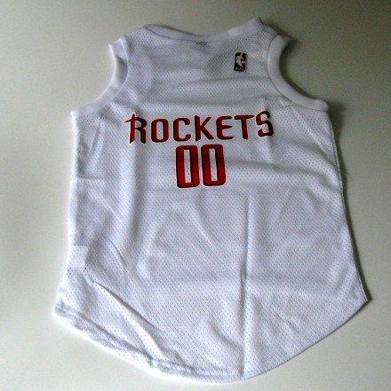 Houston Rockets Pet Dog Basketball Jersey Gift Size XL