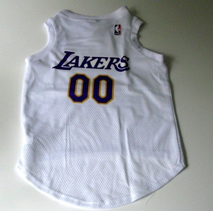 Los Angeles Lakers Pet Dog Basketball Jersey Gift Size XL
