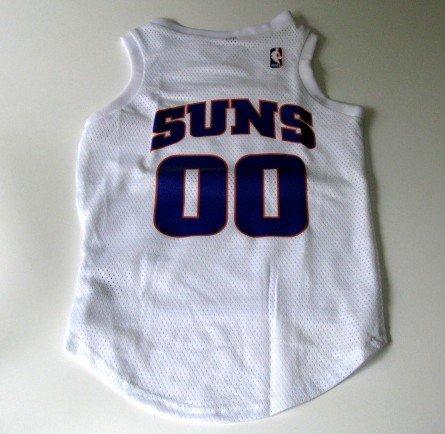 Phoenix Suns Pet Dog Basketball Jersey Gift Size XL