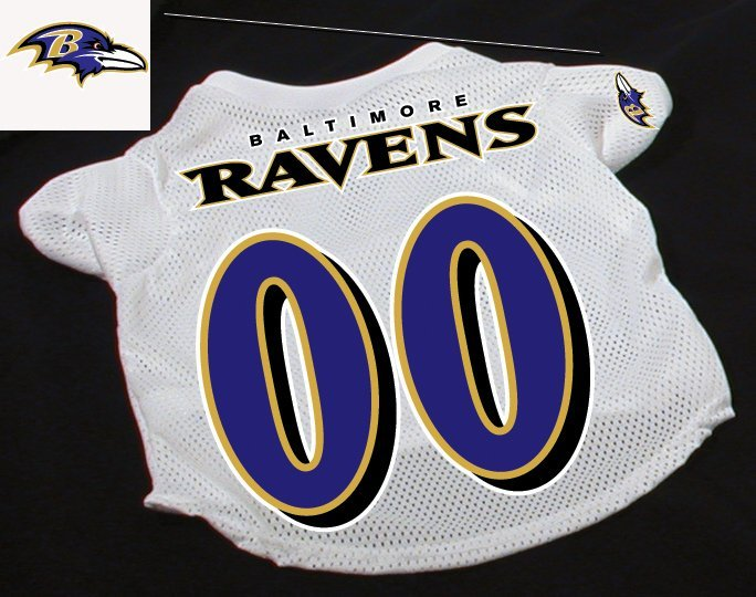 Baltimore Ravens Pet Dog Football Jersey Gift Large