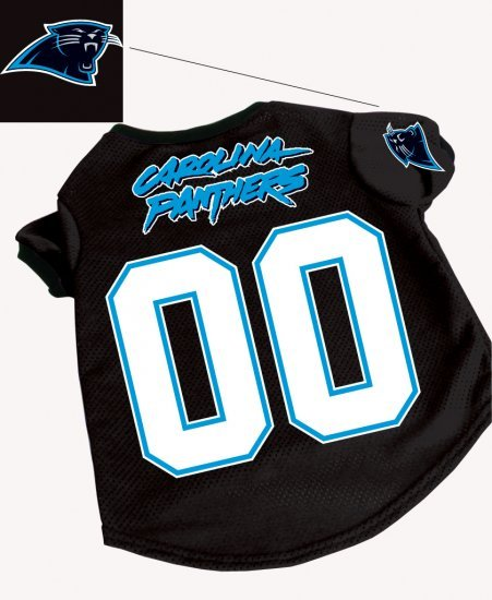 Carolina Panthers Pet Dog Football Jersey Gift Small