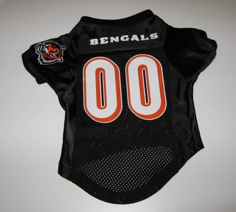 Cincinnati Bengals Pet Dog Football Jersey Premium Large