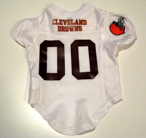 Cleveland Browns Pet Dog Football Jersey Premium Gift Small