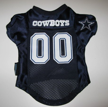 Dallas Cowboys Pet Dog Football Jersey Premium Gift Medium