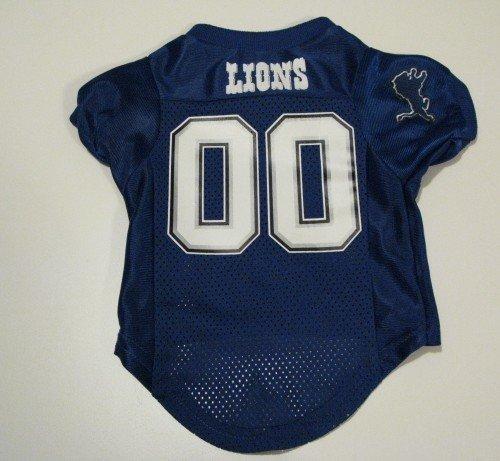 Detroit Lions Pet Dog Football Jersey Premium Gift Small
