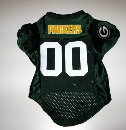 Green Bay Packers Pet Dog Football Jersey Premium Gift Large