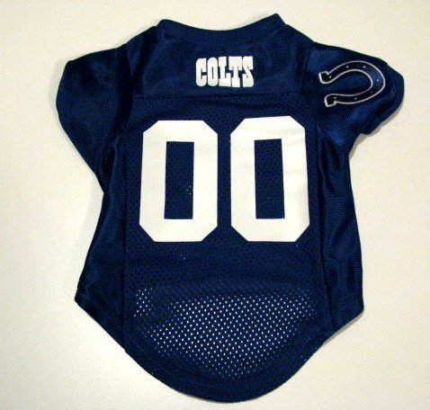 Indianapolis Colts Pet Dog Football Jersey Premium Small