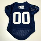 Indianapolis Colts Pet Dog Football Jersey Size XL