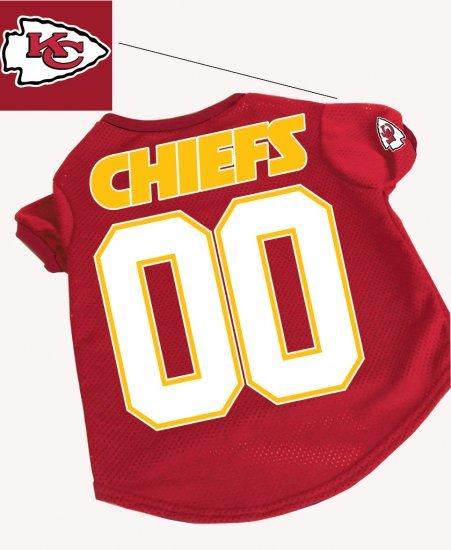 Kansas City Chiefs Pet Dog Football Jersey Gift XL