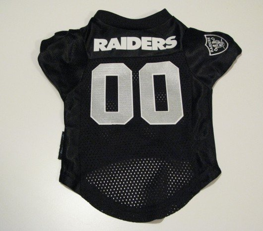 Oakland Raiders Pet Dog Football Jersey Premium Gift Small