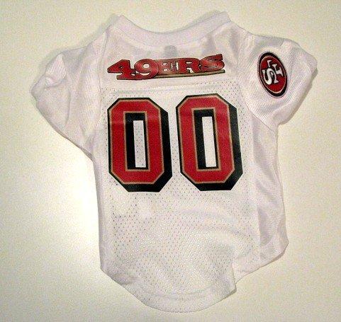 San Francisco 49ers Pet Dog Football Jersey Premium Gift Small