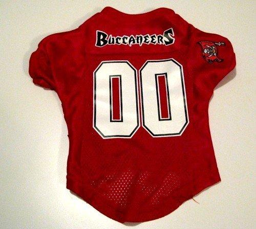 Tampa Bay Buccaneers Pet Dog Football Jersey Premium Large
