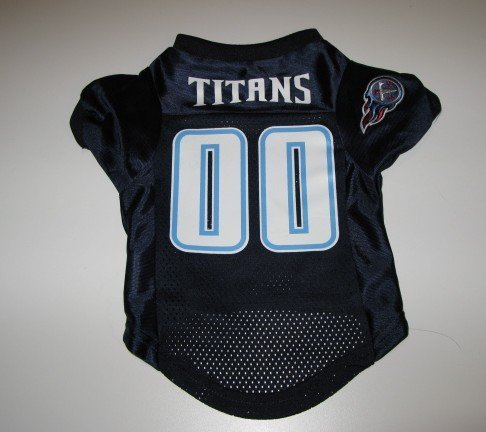 Tennessee Titans Pet Dog Football Jersey Premium Small