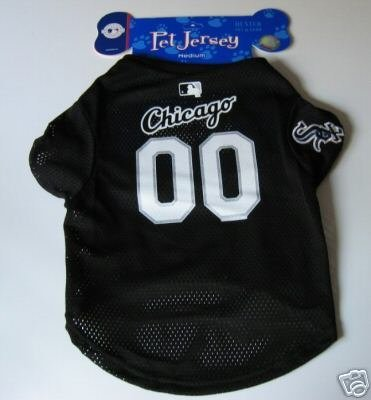 Chicago White Sox Pet Dog Baseball Jersey Gift Small