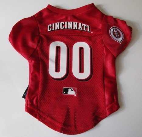 Cincinnati Reds Pet Dog Baseball Jersey Shirt Premium Gift Large
