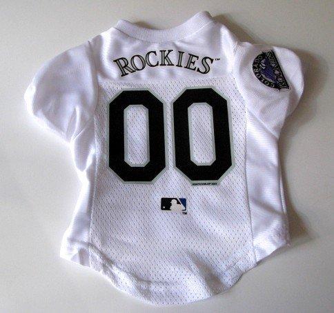 Colorado Rockies Pet Dog Baseball Jersey Shirt Premium Gift Medium