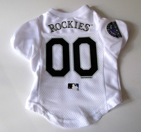 Colorado Rockies Pet Dog Baseball Jersey Shirt Premium Gift Large