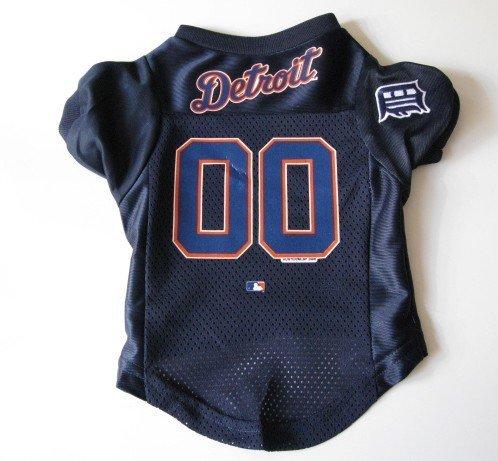 Detroit Tigers Pet Dog Baseball Jersey Shirt Premium Gift Medium