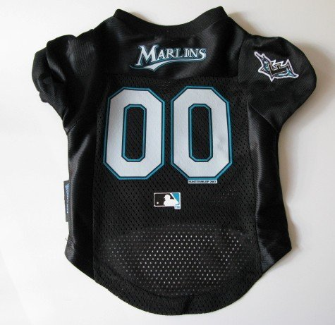 Florida Marlins Pet Dog Baseball Jersey Shirt Premium Gift Large