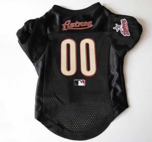 Houston Astros Pet Dog Baseball Jersey Shirt Premium Gift Medium