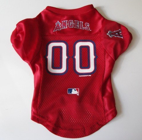 Los Angeles Angels Pet Dog Baseball Jersey Shirt Premium Gift Medium