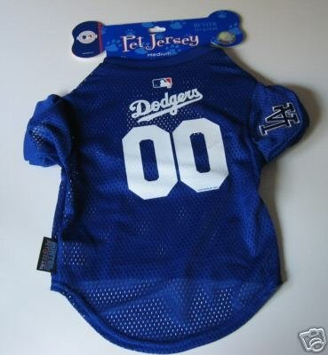 Los Angeles Dodgers Pet Dog Baseball Jersey Gift Medium