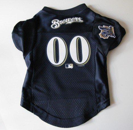 Milwaukee Brewers Pet Dog Baseball Jersey Shirt Premium Gift XL