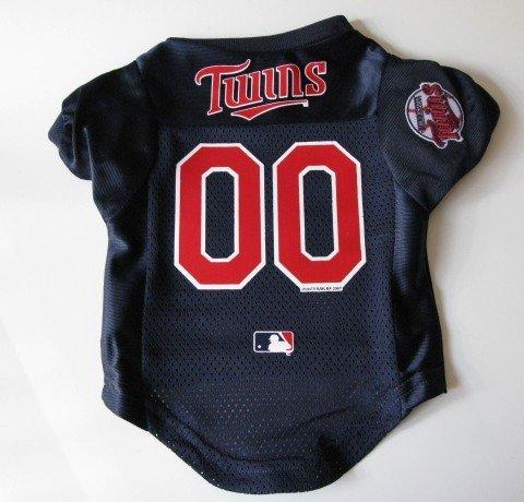 Minnesota Twins Pet Dog Baseball Jersey Shirt Premium Gift Small