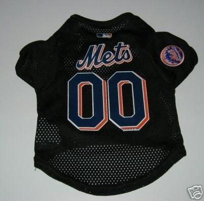 New York Mets Pet Dog Baseball Jersey Gift Large