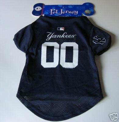 New York Yankees Pet Dog Baseball Jersey Gift XL