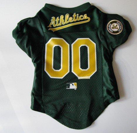 Oakland A's Athletics Pet Dog Baseball Jersey Shirt Premium Gift Large