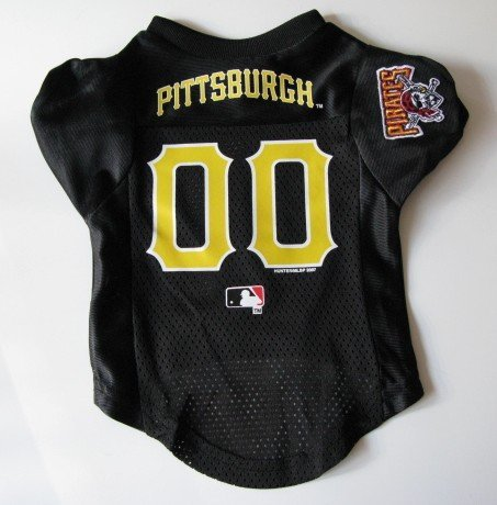 Pittsburgh Pirates Pet Dog Baseball Jersey Shirt Premium Gift Large
