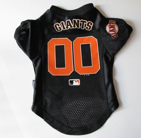 San Francisco Giants Pet Dog Baseball Jersey Shirt Premium Gift Large