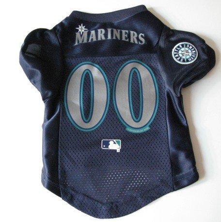 Seattle Mariners Pet Dog Baseball Jersey Shirt Premium Gift Large