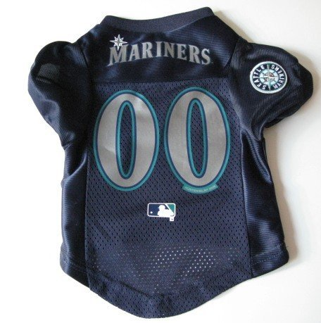 Seattle Mariners Pet Dog Baseball Jersey Shirt Premium Gift XL