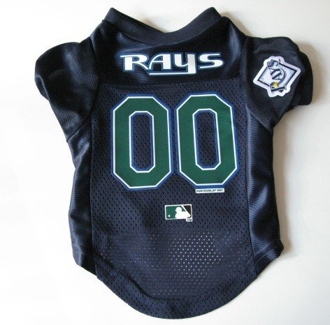 Tampa Bay Devil Rays  Pet Dog Baseball Jersey Shirt Premium Gift Large