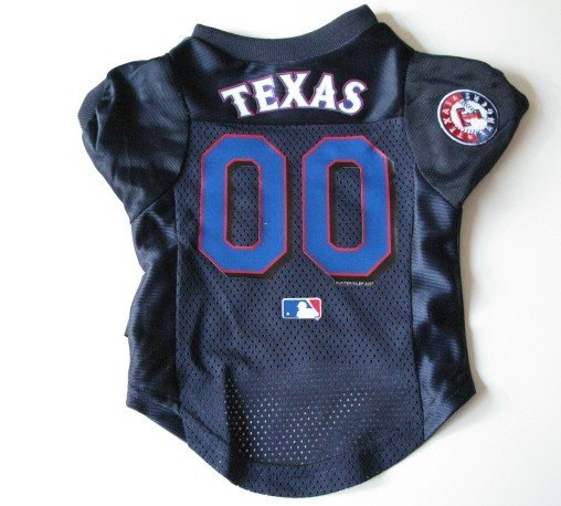 Texas Rangers Pet Dog Baseball Jersey Shirt Premium Gift Medium