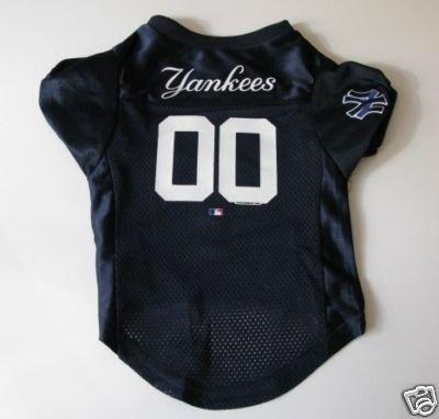 New York Yankees Pet Dog Baseball Jersey Shirt Premium Gift Medium