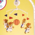 Detroit Pistons Musical Baby Crib Mobile Basketball Gift