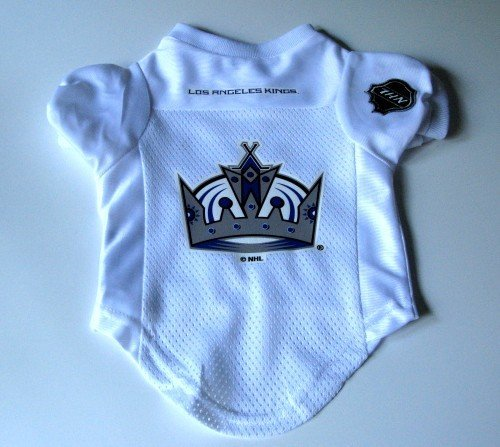 Los Angeles Kings Pet Dog Hockey Jersey Premium Large Gift