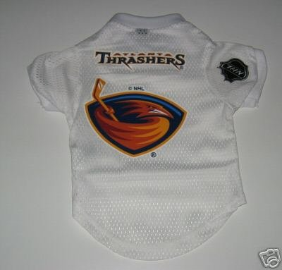 Atlanta Thrashers Pet Dog Hockey Jersey Gift Size Large