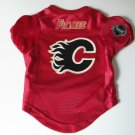 Calgary Flames Pet Dog Hockey Jersey Size Small