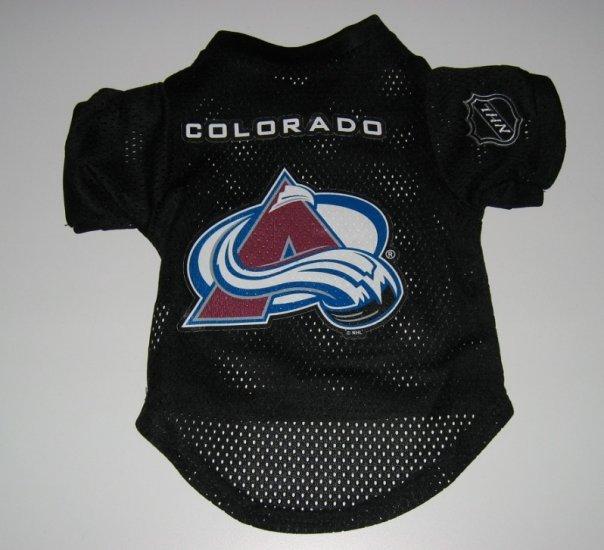 Colorado Avalanche Pet Dog Hockey Jersey XL