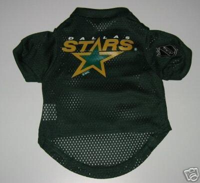 Dallas Stars Pet Dog Hockey Jersey Gift Size Medium
